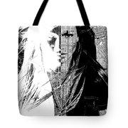 Portrait Art Jennifer Lopez  Tote Bag