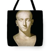 Portrait Bust Of Emperor Severus Alexander Tote Bag by Anonymous