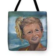 Portrait - Emma - Beach Tote Bag