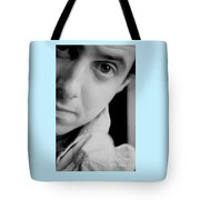 Portrait Figurative Study Piece Of Bobby  Tote Bag