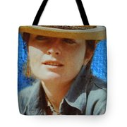 Portrait From The Middle Eightieth Tote Bag