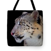 Portrait II Of A Snow Leopard Tote Bag