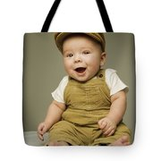 Portrait Of A Baby Boy Tote Bag