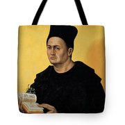 Portrait Of A Benedictine Abbot Tote Bag