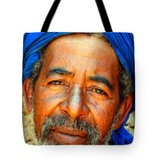 Portrait Of A Berber Man  Tote Bag