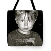 Portrait Of A Boy Tote Bag