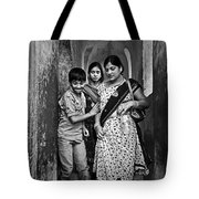 Portrait Of A Candid Moment Tote Bag
