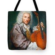 Portrait Of A Cellist Tote Bag