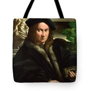 Portrait Of A Collector Tote Bag