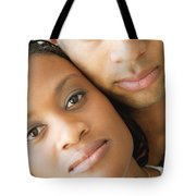 Portrait Of A Couple Tote Bag by Darren Greenwood