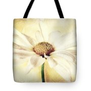 Portrait Of A Daisy Tote Bag