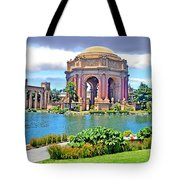 Portrait Of A Filipina Beauty Altered Version Tote Bag