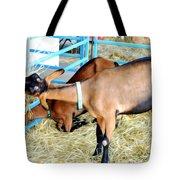 Portrait Of A Goat Tote Bag