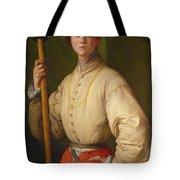 Portrait Of A Halberdier Tote Bag