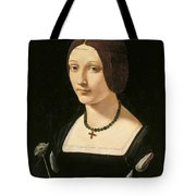 Portrait Of A Lady As Saint Lucy Tote Bag