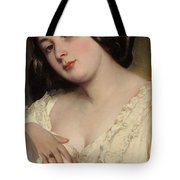Portrait Of A Lady Tote Bag by Franz Xaver Winterhalter