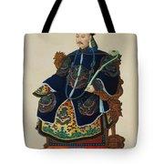 Portrait Of A Mandarin Tote Bag