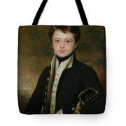 Portrait Of A Midshipman Tote Bag