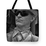 Portrait Of A Mime In Jackson Square Tote Bag