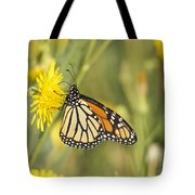 Portrait Of A Monarch Tote Bag