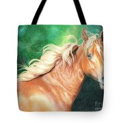 Portrait Of A Palomino Tote Bag
