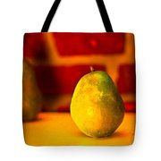 Portrait Of A Pear Tote Bag