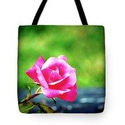 Portrait Of A Rose Tote Bag