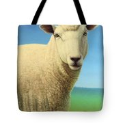 Portrait Of A Sheep Tote Bag