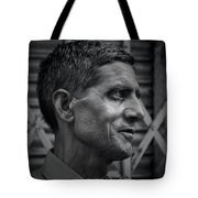 Portrait Of A Stranger Tote Bag