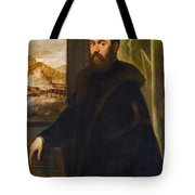 Portrait Of A Venetian Senator Tote Bag