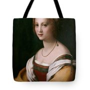 Portrait Of A Woman Tote Bag