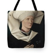 Portrait Of A Woman Of The Hofer Family Tote Bag