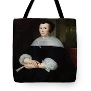 Portrait Of A Woman Oil On Canvas Tote Bag