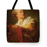 Portrait Of A Young Artist Tote Bag