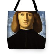 Portrait Of A Young Man Tote Bag