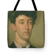 Portrait Of A Youth Tote Bag