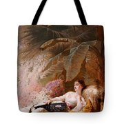 Portrait Of Adelaide Maria Guiness Reclining On A Sofa In A Conservatory Tote Bag