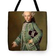 Portrait Of Aleksey Bobrinsky As A Child Tote Bag