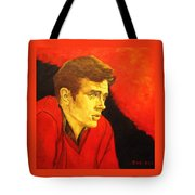 Portrait Of An Idol Tote Bag