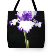 Portrait Of An Iris Tote Bag