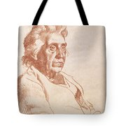 Portrait Of An Old Lady, 1938 Tote Bag