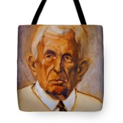 Portrait Of An Older Man Tote Bag