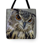 Portrait Of An Owl Tote Bag