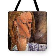 Portrait Of Beatrice Hastings Tote Bag