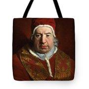 Portrait Of Benedict Xiv Tote Bag