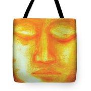Portrait Of Buddha Tote Bag