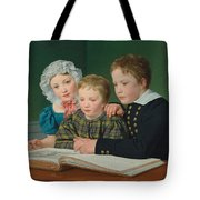 Portrait Of C F Holms Children Tote Bag