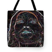 Portrait Of Christ Tote Bag