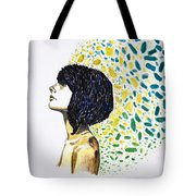 Portrait Of Cindy Clark Tote Bag
