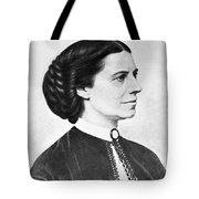 Portrait Of Clara Barton Tote Bag